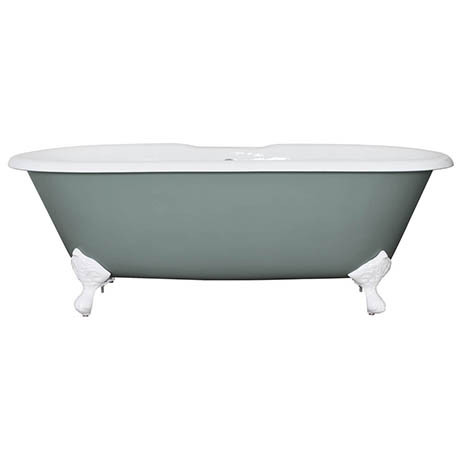 JIG Bisley Cast Iron Roll Top Bath (1690x750mm) with Feet