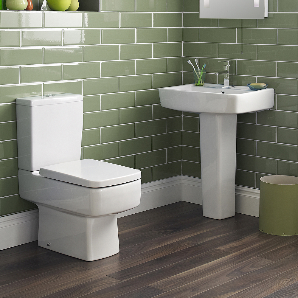 Bliss L-Shaped 1700 Complete Bathroom Package profile large image view 2