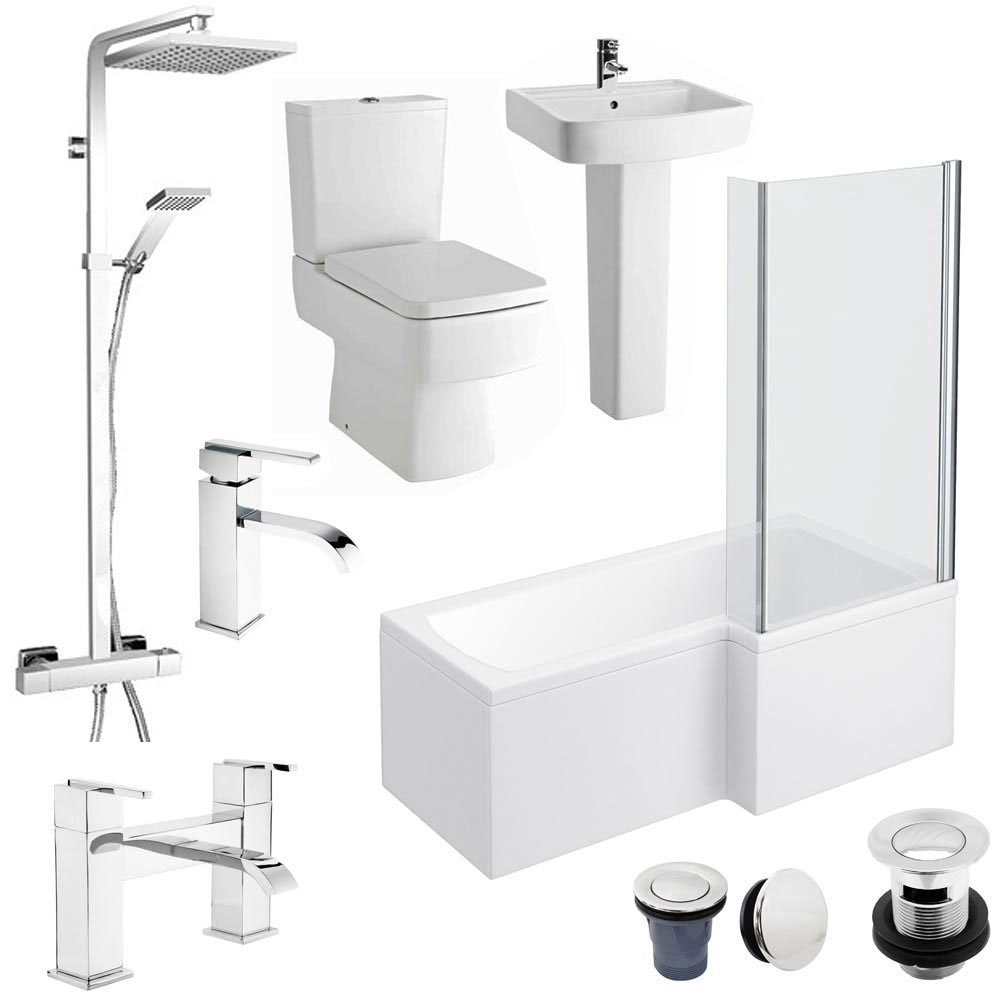 Bathroom Suites Sale | Cheap Bathroom Suites | Victorian Plumbing