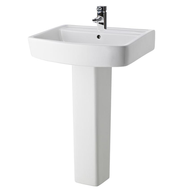 Bliss Modern Slipper Freestanding Bath Suite - 2 Basin Size Options Standard Large Image