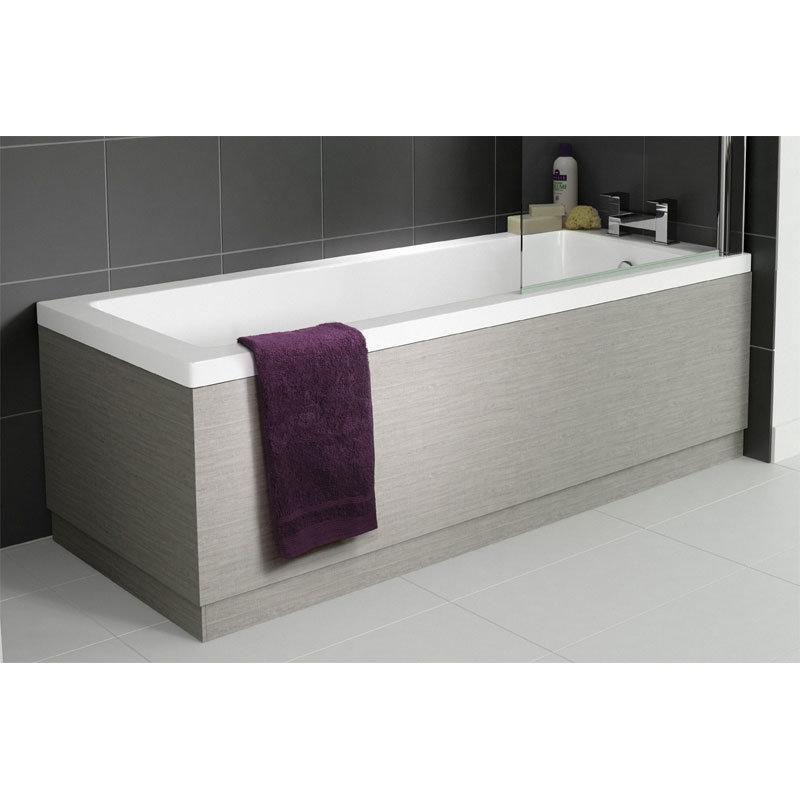 Hudson Reed Blonde Oak Front Bath Panel - Various Size Options profile large image view 1