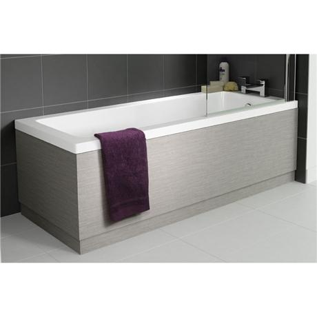 Hudson Reed Blonde Oak Front Bath Panel - Various Size Options