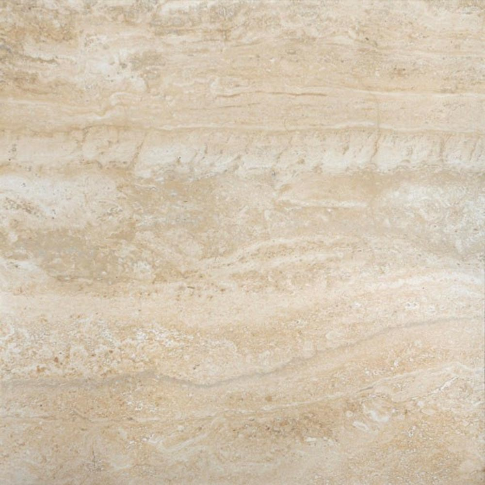 Bosa Marbled Cream Floor Tile (Matt - 450 x 450mm) Large Image