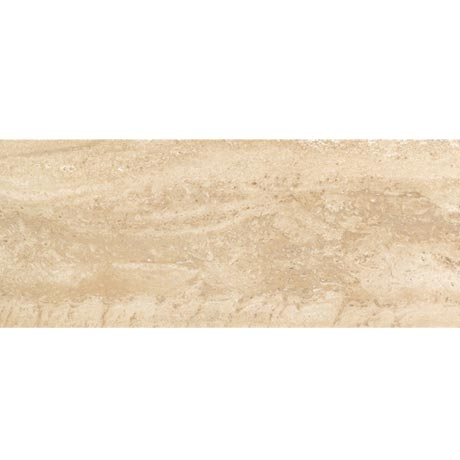 Bosa Marbled Cream Wall Tile (Gloss - 200 x 500mm)