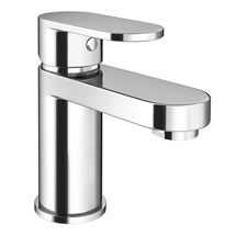 Bosa Mono Basin Mixer Tap with Waste - Chrome Medium Image