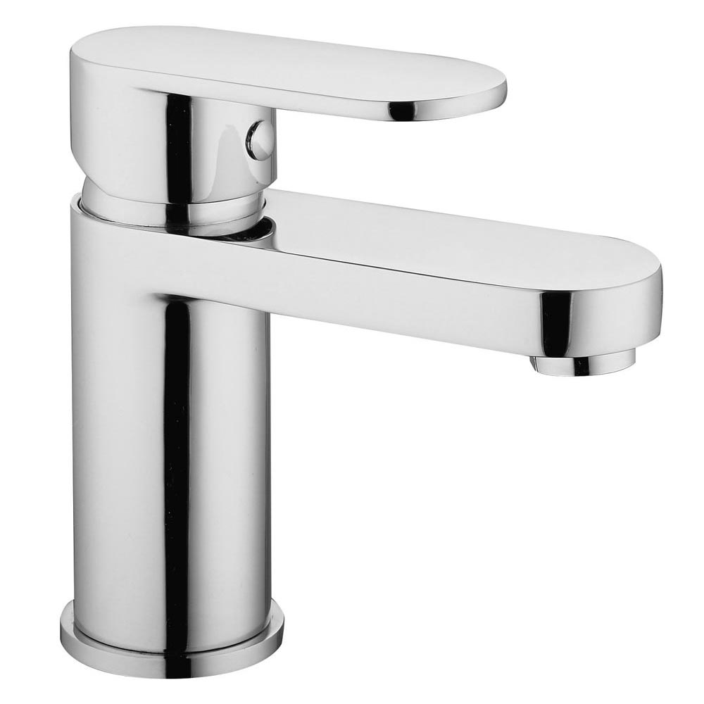 Bosa Mono Basin Mixer Tap with Waste - Chrome Large Image