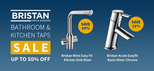 bristan bathroom and kitchen taps offer