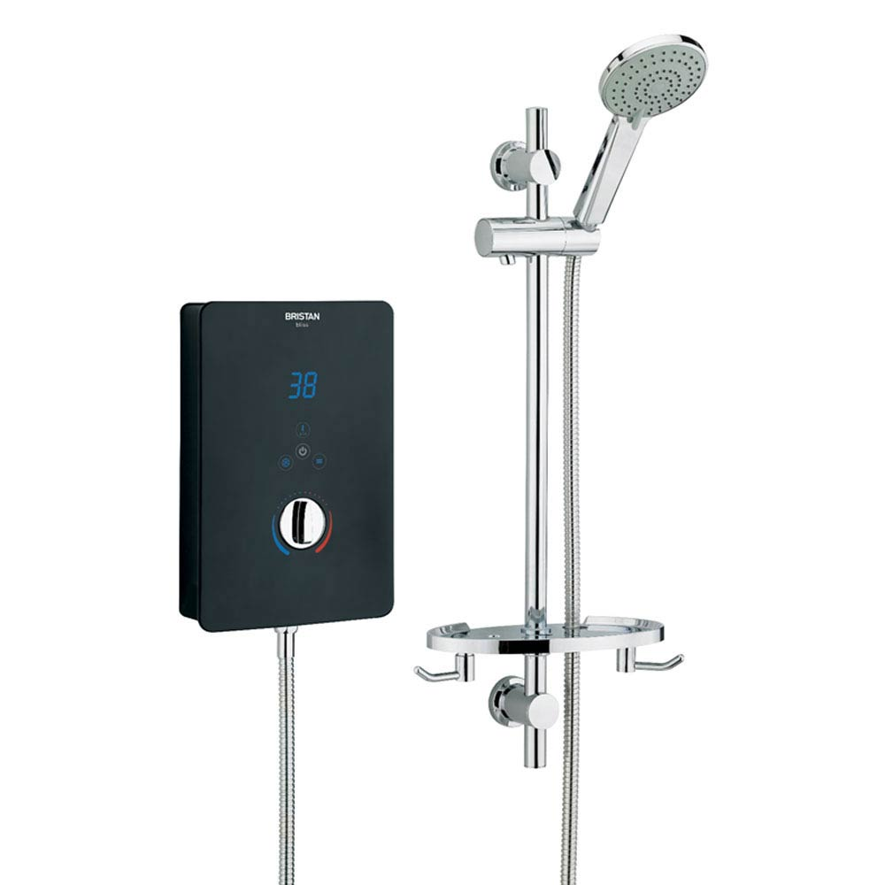 Victoria Plumb Showers >> Bristan Bliss Electric Shower Black at Victorian Plumbing UK