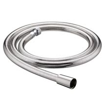 Bristan - 1.5m Cone to Nut Shower Flex Easy Clean Hose - Chrome Medium Image