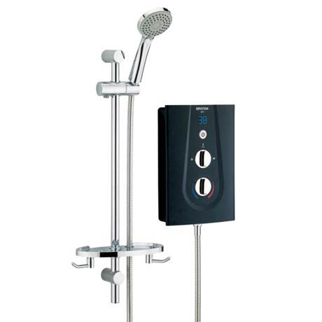 Bristan - Glee 8.5KW Electric Shower - Black - GLE85B