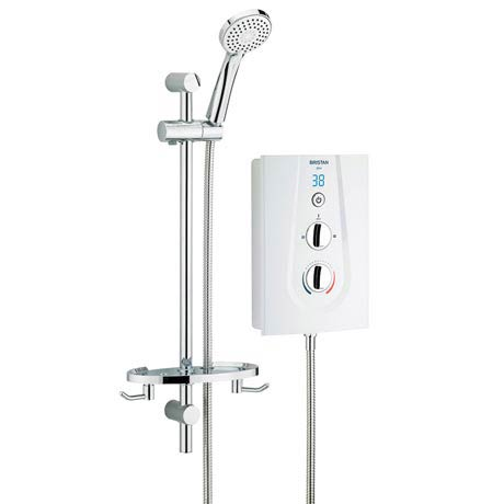 Bristan - Glee 8.5KW Electric Shower - White - GLE85W