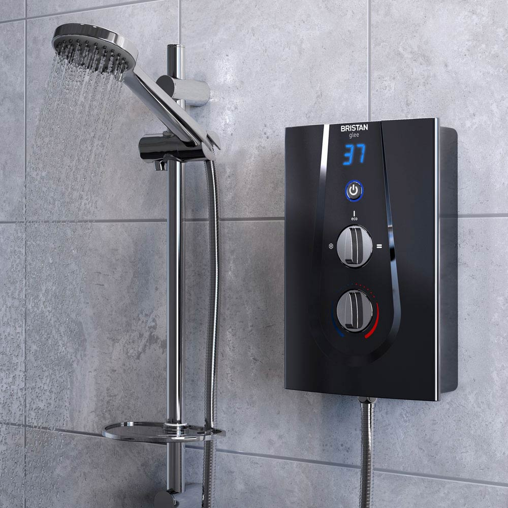 Bristan Glee 8.5KW Electric Shower Black - GLE385B