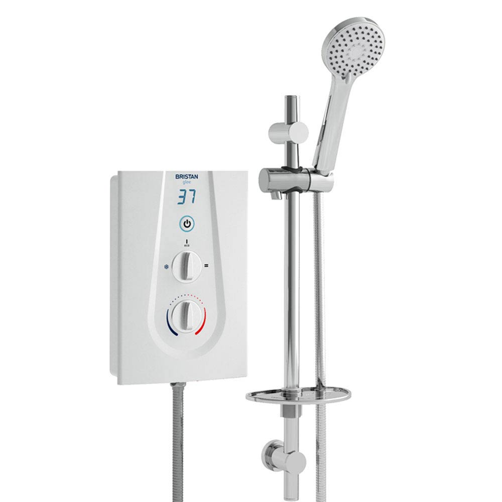 Bristan Glee Electric Shower White Large Image