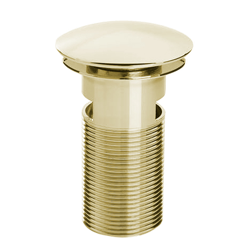 Bristan - Slotted Clicker Basin Waste - Gold Large Image