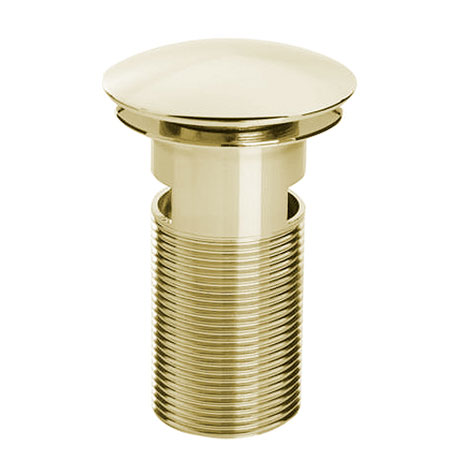 Bristan - Slotted Clicker Basin Waste - Gold