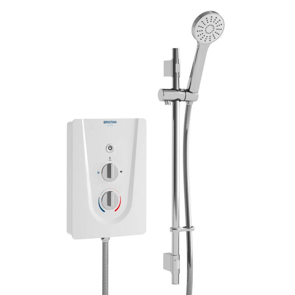 Bristan Smile Electric Shower White Large Image
