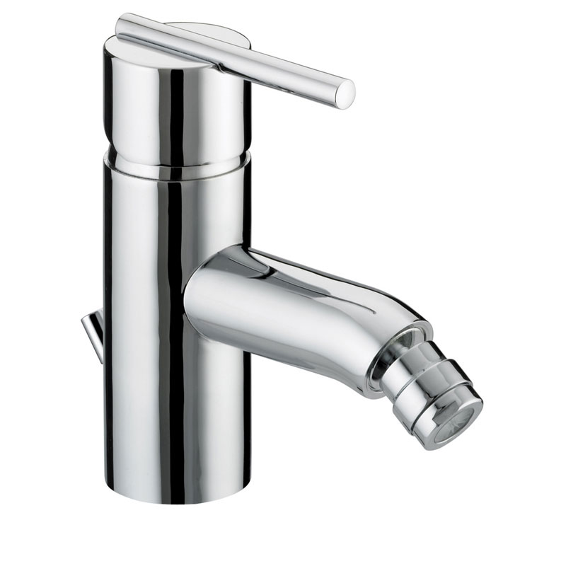 Bristan Blade Contemporary Mono Bidet Mixer With Pop Up Waste - Chrome - BL-BID-C Large Image