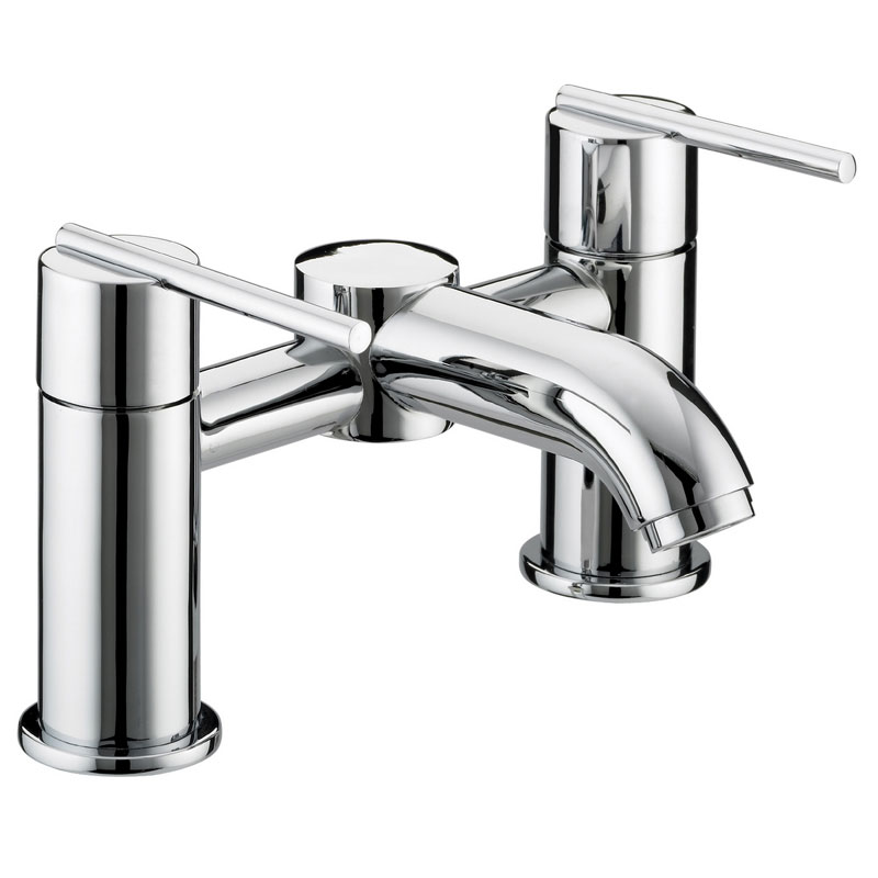 Bristan Blade Contemporary Bath Filler - Chrome - BL-BF-C Large Image