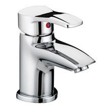 Bristan Capri Contemporary Basin Mixer with Pop-Up Waste - Chrome - CAP-BAS-C Medium Image