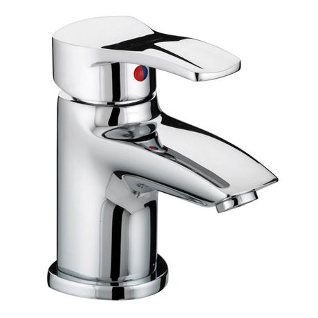 Bristan Capri Contemporary Basin Mixer with Pop-Up Waste - Chrome - CAP-BAS-C
