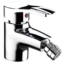 Bristan Capri Contemporary Bidet Mixer with Pop-up Waste - Chrome - CAP-BID-C Medium Image