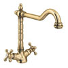 Britannia Classic Mono Sink Mixer - Antique Bronze Small Image