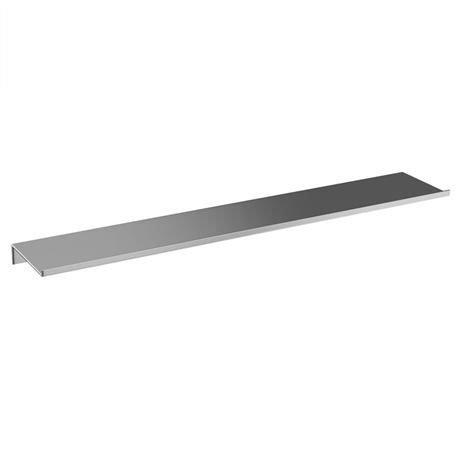Britton Bathrooms - 55cm stainless steel shelf - BR7