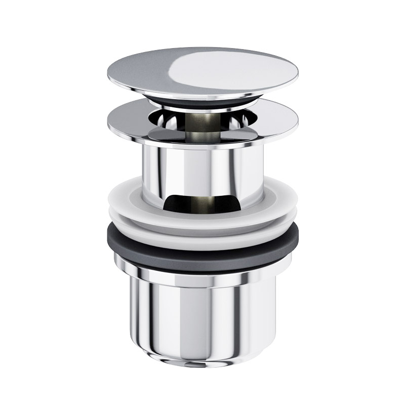 Britton Bathrooms - Basin Click-Clack Waste (slotted) - Chrome plated Large Image