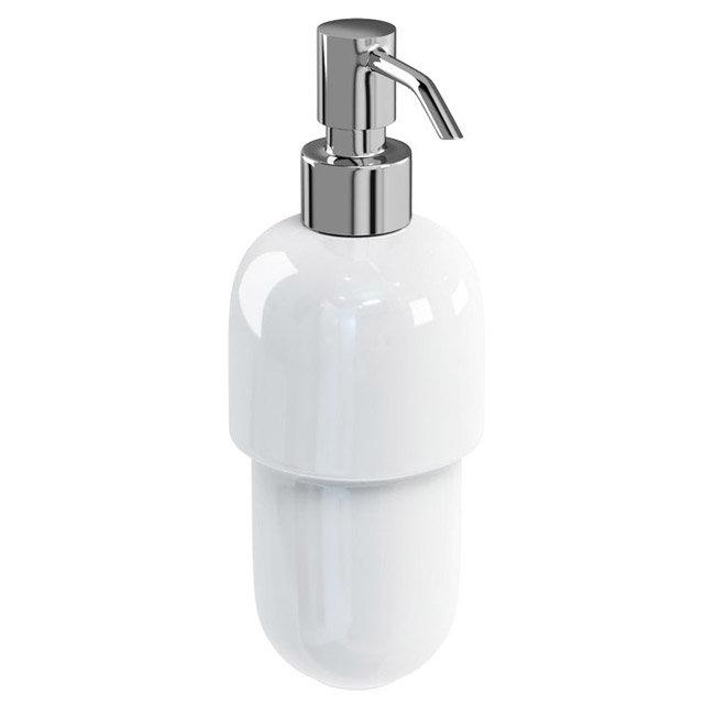 Britton Bathrooms - Ceramic Soap Dispenser - BR3 Large Image