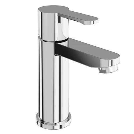 Britton Bathrooms - Crystal basin mixer without pop up waste - CTA1