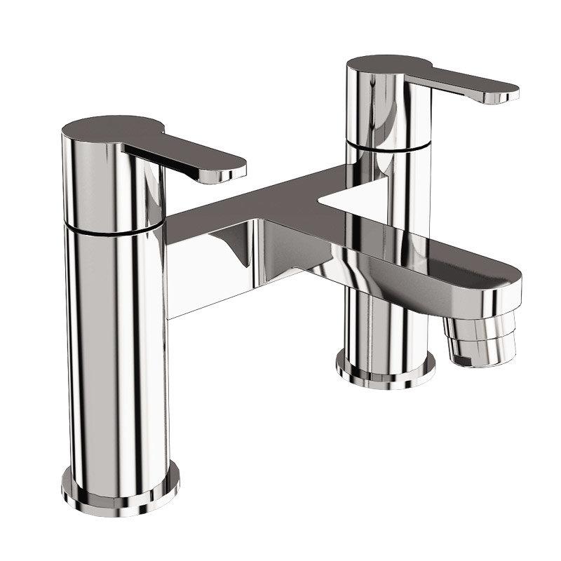 Britton Bathrooms - Crystal bath filler - CTA6 profile large image view 1