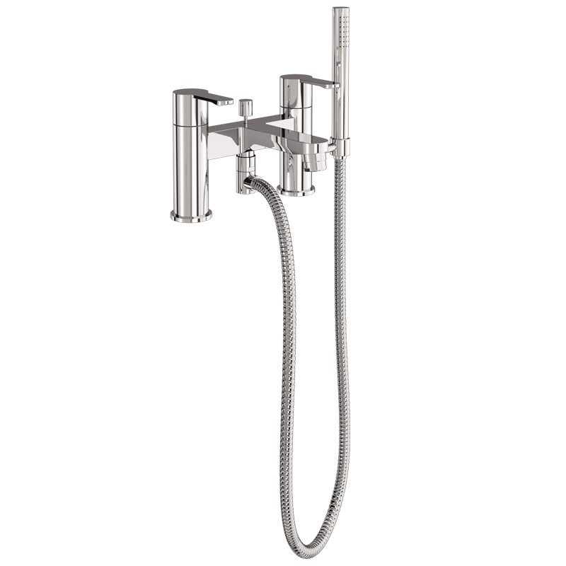 Britton Bathrooms - Crystal bath shower mixer - CTA7 profile large image view 2