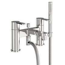Britton Bathrooms - Crystal bath shower mixer - CTA7 Medium Image