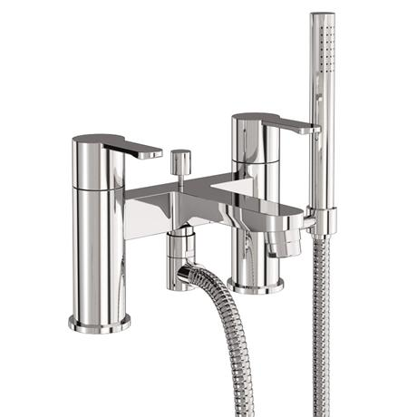 Britton Bathrooms - Crystal bath shower mixer - CTA7