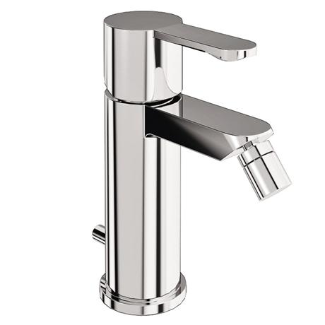 Britton Bathrooms - Crystal bidet mixer with pop up waste - CTA4