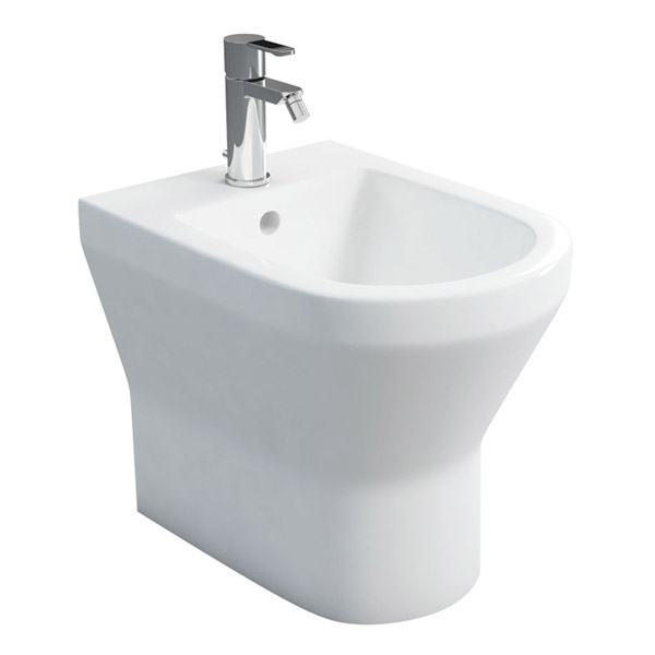 Britton Bathrooms - Curve Back to Wall Bidet - 30.1964 Large Image