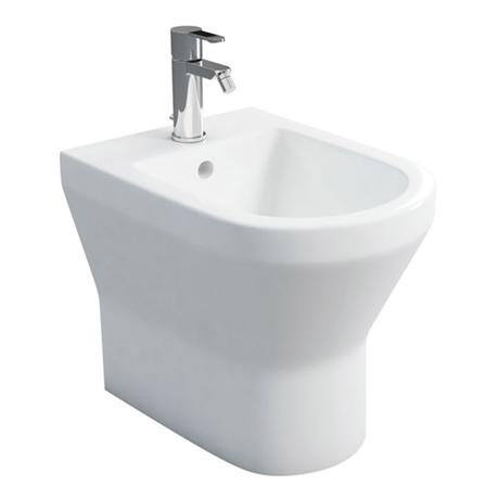 Britton Bathrooms - Curve Back to Wall Bidet - 30.1964
