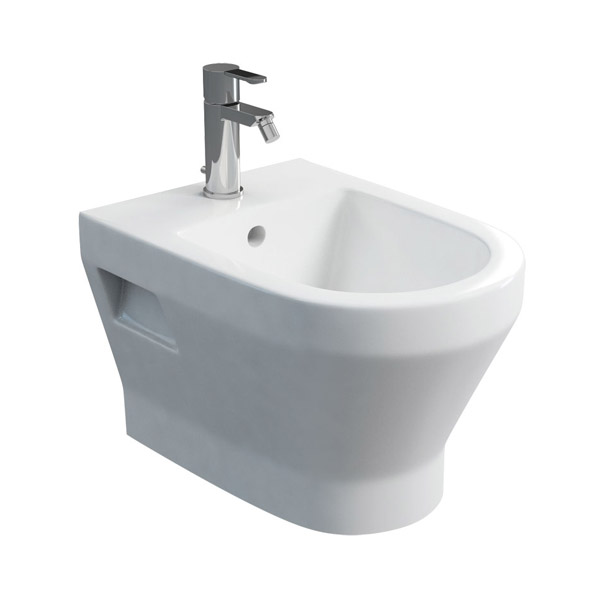 Britton Bathrooms - Curve Wall hung bidet - 30.1961 Large Image
