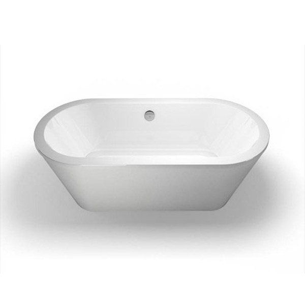 Cleargreen - Freestark Double Ended Freestanding Bath & Surround - 1740 x 800mm Feature Large Image