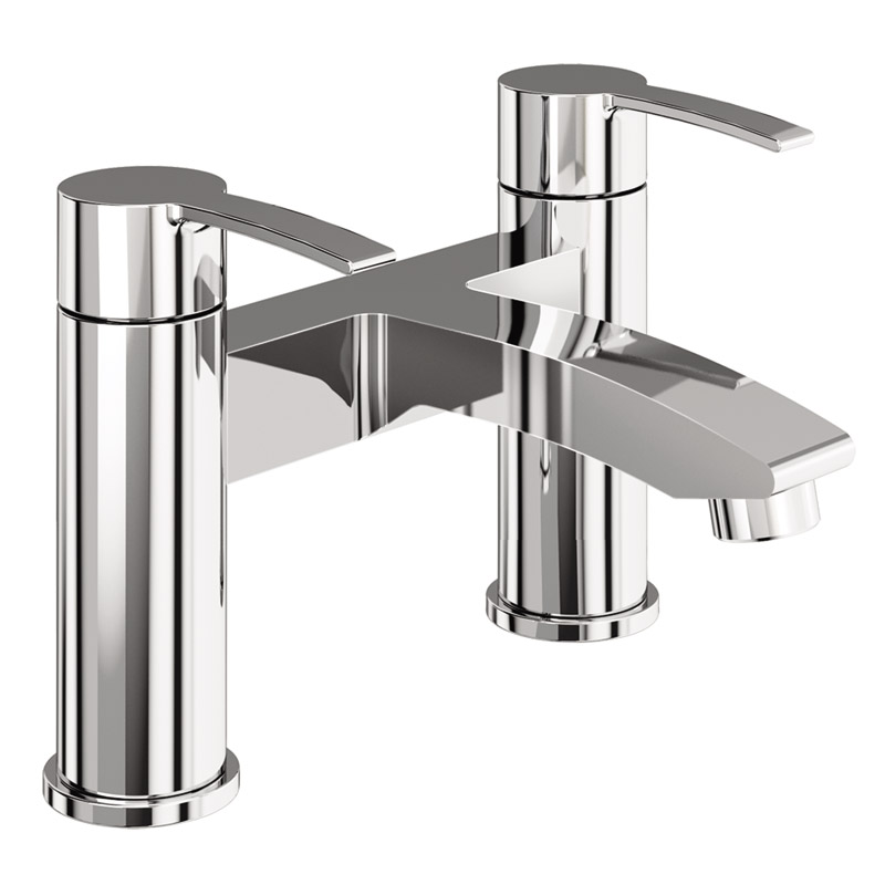 Britton Bathrooms - Sapphire bath filler - CTA15 Large Image