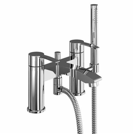 Britton Bathrooms - Sapphire bath shower mixer - CTA16