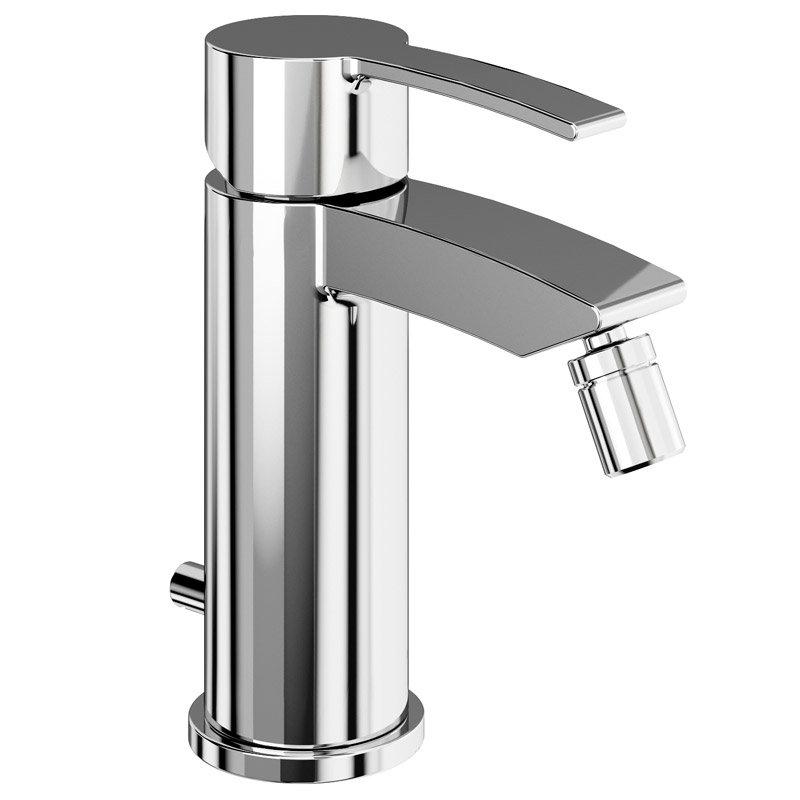 Britton Bathrooms - Sapphire bidet mixer with Pop Up Waste - CTA13 Large Image