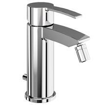 Britton Bathrooms - Sapphire bidet mixer with Pop Up Waste - CTA13 Medium Image