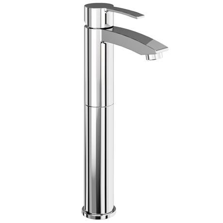 Britton Bathrooms - Sapphire tall basin mixer without pop up waste - CTA12