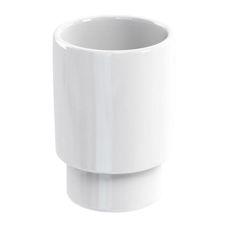 Britton Bathrooms - ceramic tumbler - BR2
