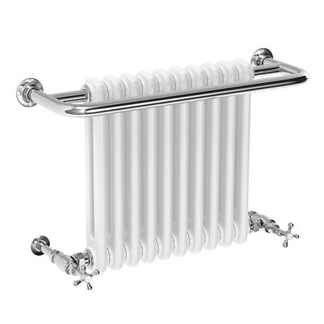 Bromley Traditional Wall Hung Towel Rail Radiator (742 x 492mm)