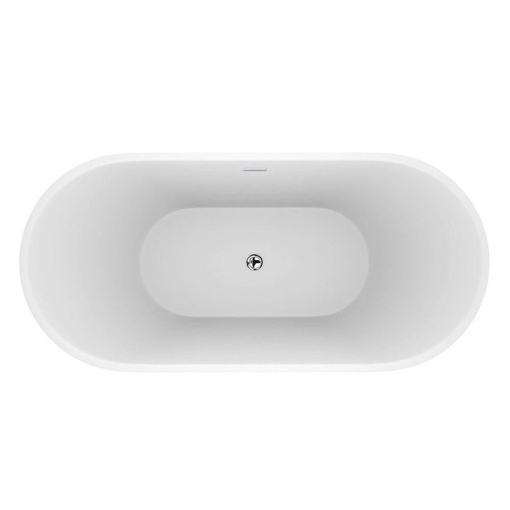 Windsor Brooklyn 1500 x 750mm Small Double Ended Free Standing Bath profile large image view 2