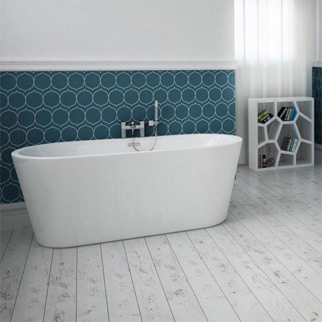 Windsor Brooklyn 1500 x 750mm Double Ended Freestanding Bath