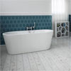Windsor Brooklyn 1500 x 750mm Small Double Ended Free Standing Bath profile small image view 1