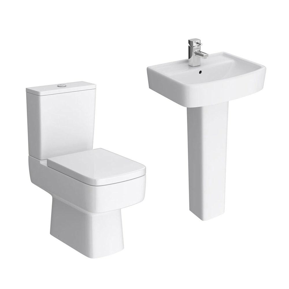 Brooklyn 4-Piece Modern Bathroom Suite  Profile Large Image